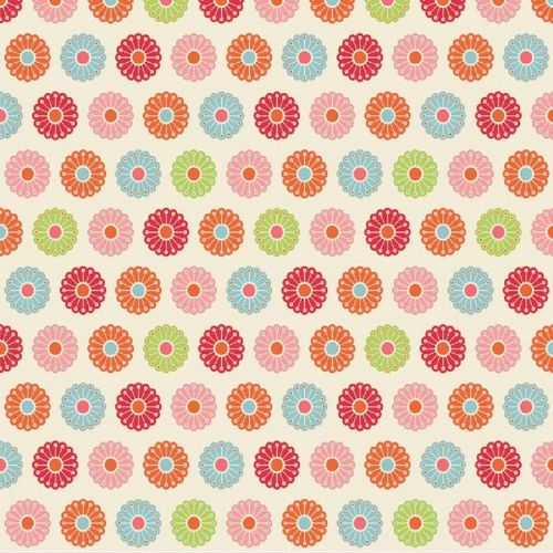Riley Blake - Just Dreamy -  Patch (Cream) Fabric